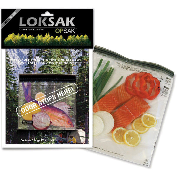 LOKSAK OPSak Odor-Proof Barrier Bag - 20 x 12.5