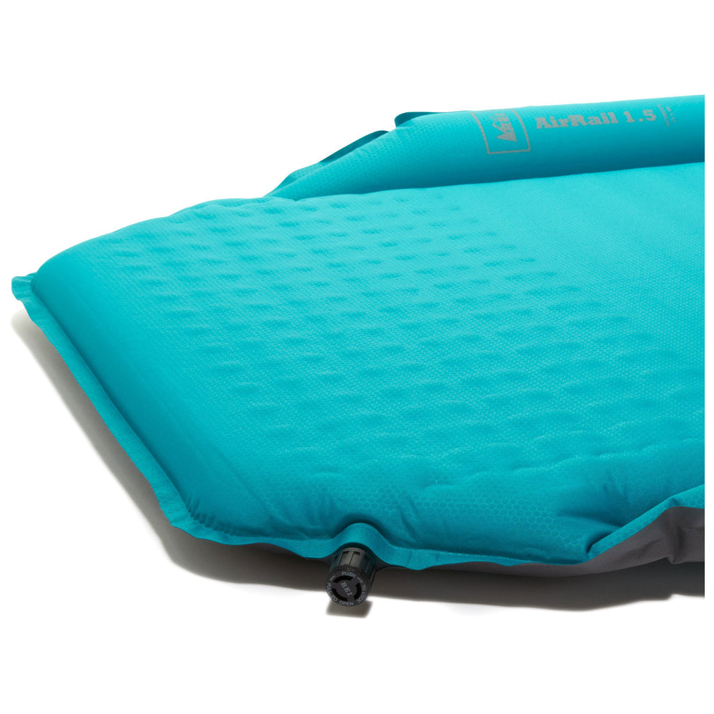 REI AirRail 1.5 Self-Inflating Sleeping Pad - Regular (Blue)