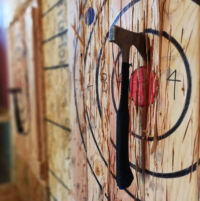 Chicago, IL: Half Day Event for LumberJanes: Eat, Drink and Throw Axes - December 17th, 2017