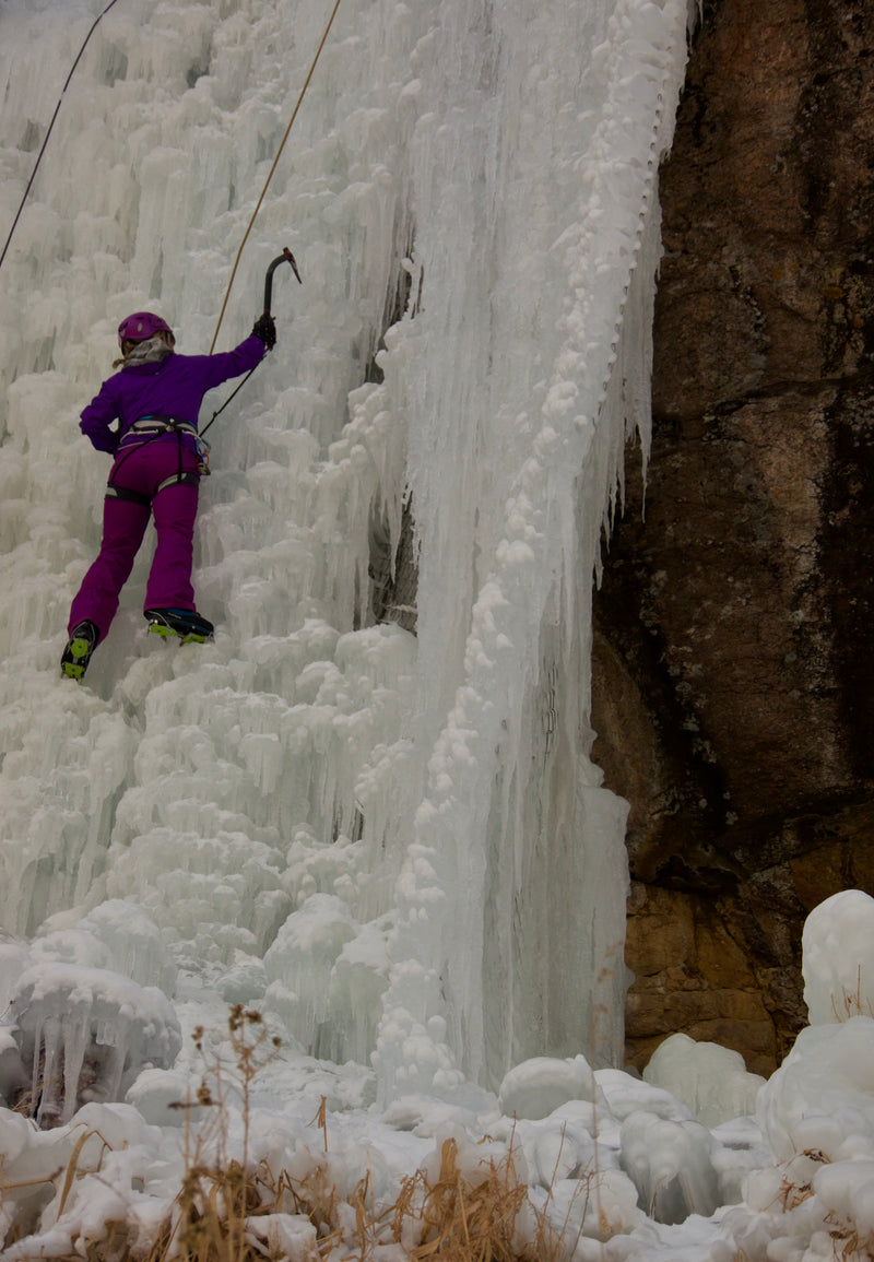 Lake City, CO: Ice Climbing, Snowshoe and Hot Springs Winter Hut Retreat - February 9-11, 2018