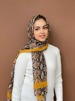 Viper Cotton Viscose Hijab