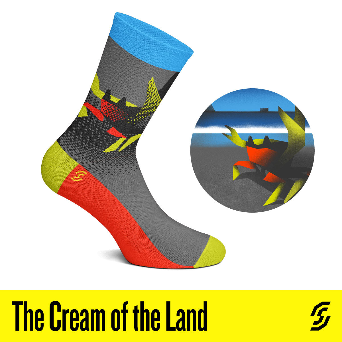The Cream of the Land  Socks