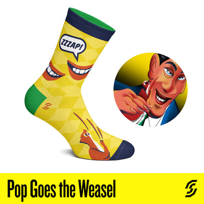 Pop Goes The Weasel Socks