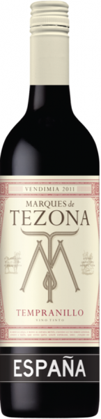 Marques De Tezona Tempranillo 2018