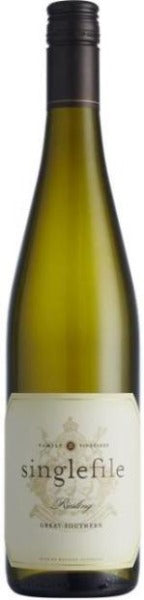 2020 Singlefile Great Southern Riesling