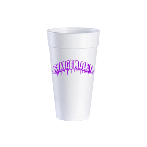 Chopped Not Slopped Styrofoam Cup Set