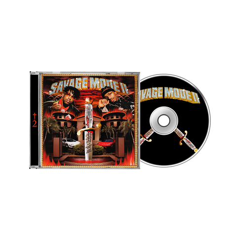 Savage Mode II CD