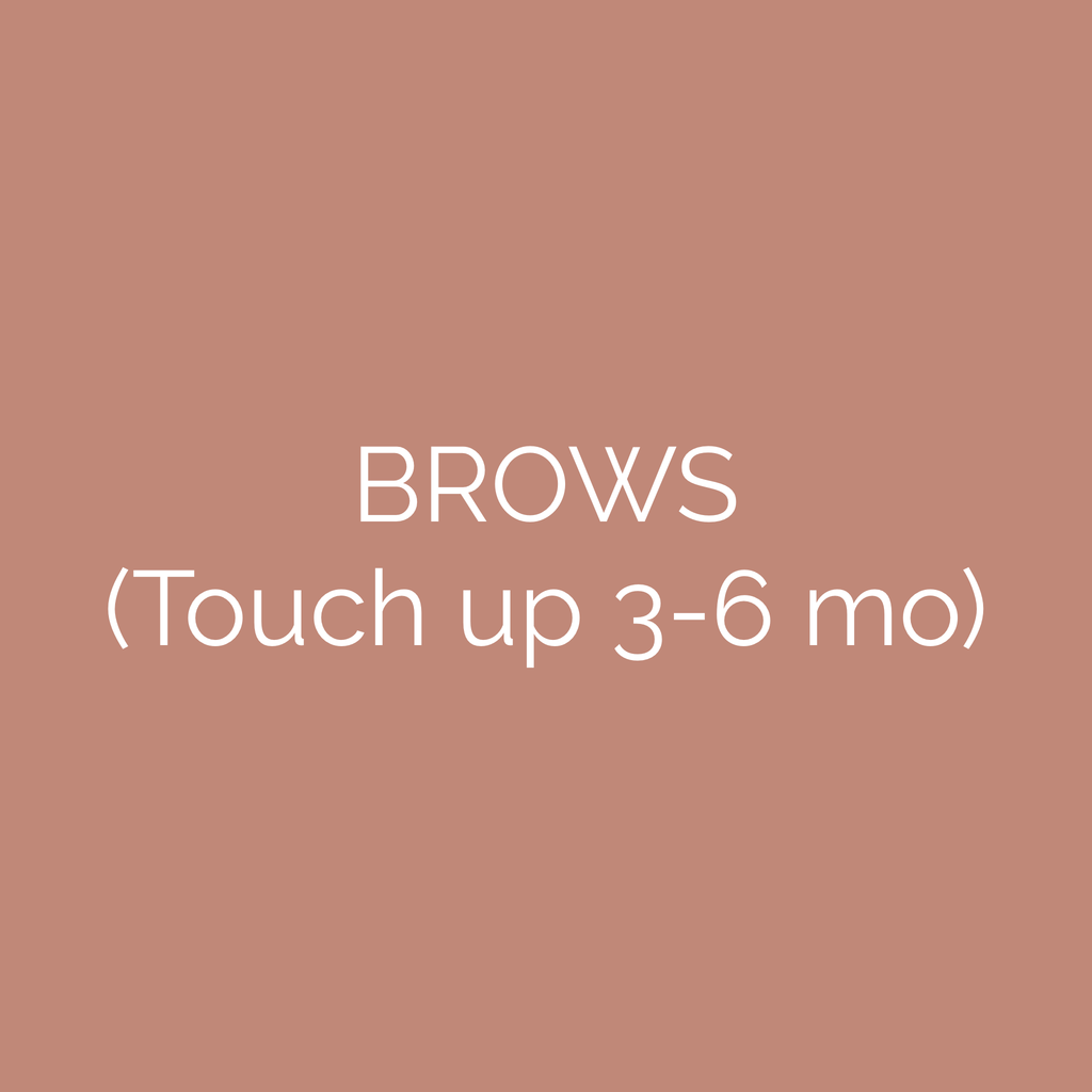 Brow Touch Up Gift Card (3-6 mo)