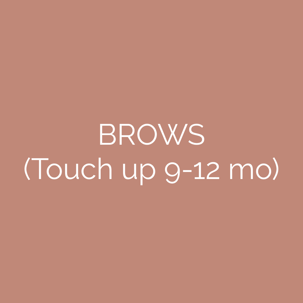 Brow Touch Up Gift Card (9-12 mo)