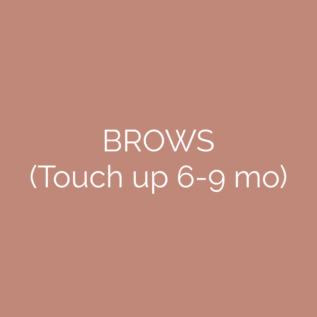 Brow Touch Up Gift Card (6-9 mo)