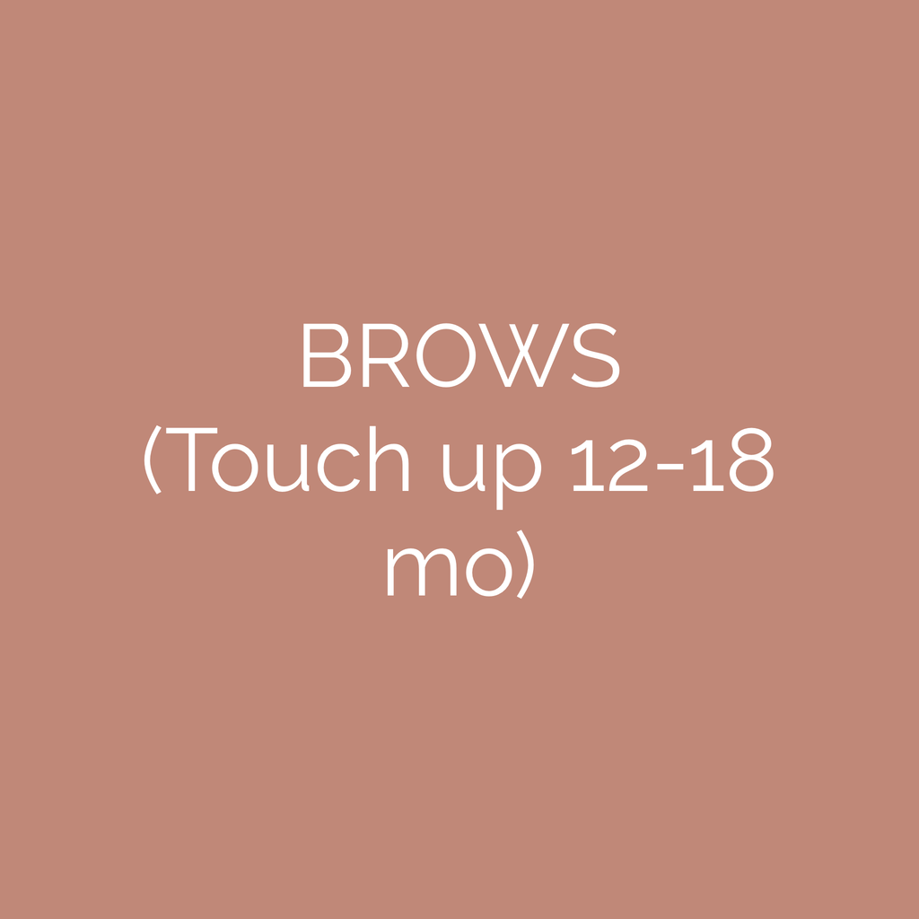 Brow Touch Up Gift Card (12-18 mo)