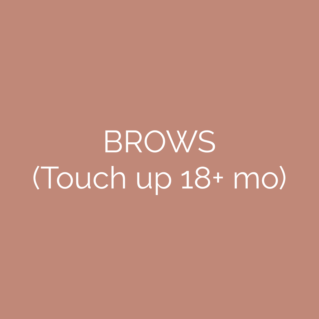 Brow Touch Up Gift Card (18+ mo)