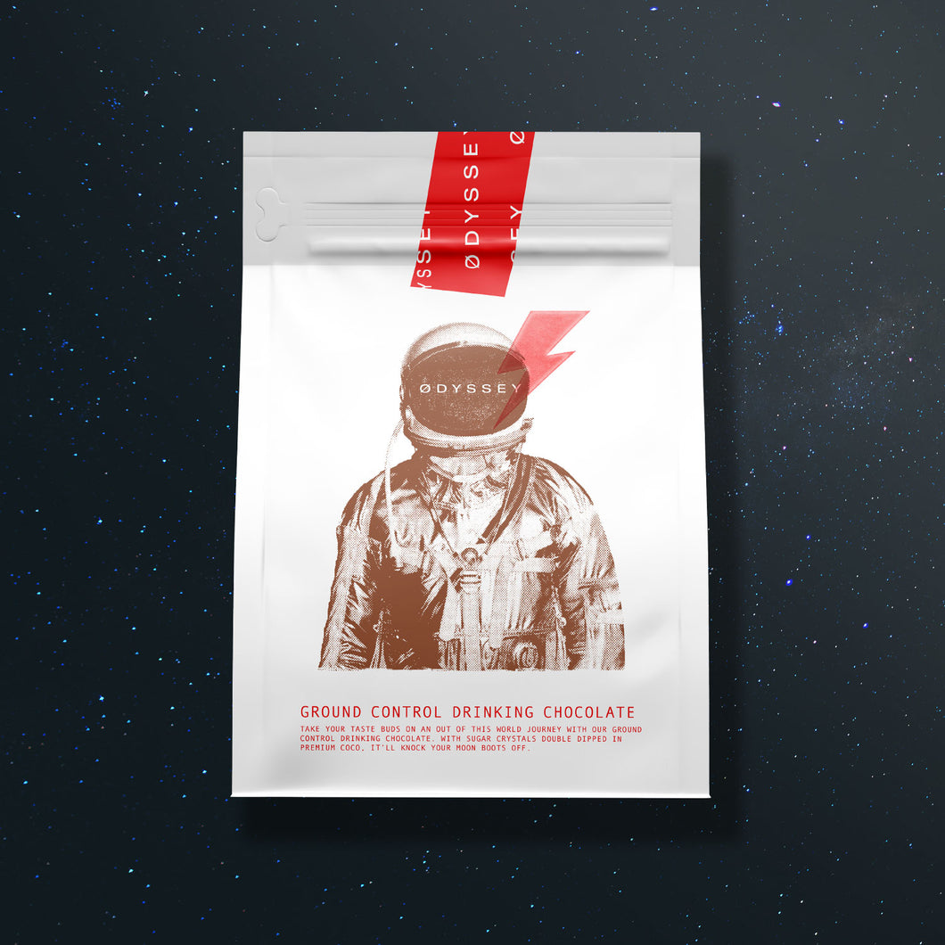 Odyssey Ground Control Drinking Chocolate 250g