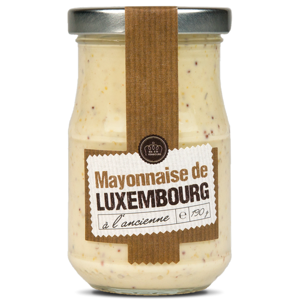 Mayonnaise à l'ancienne (bocal 190g)