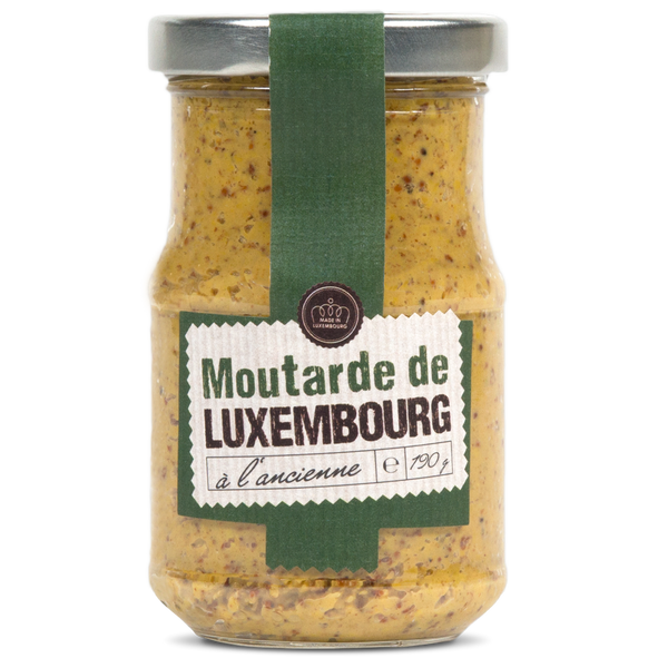 Moutarde à l'ancienne (Bocal 190g)