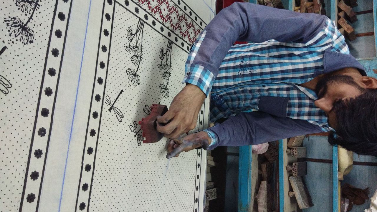 Block Printing- Engraving Stories through patterns