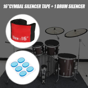 Rockn'Roll Drum Sets Damper