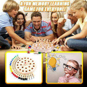 SmartBrain Memory Match Stick Chess