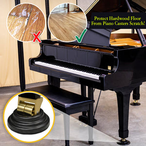 KeyProtect Piano Caster Cups