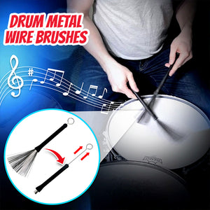 Retractable Drum Wire Brushes