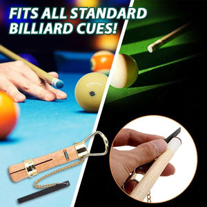 EZSnooker Wooden Cue Tip Holder