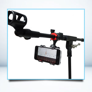 Microphone Stand Phone Holder