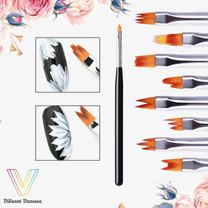 PoshNails Flower Nail Art Brush Pen