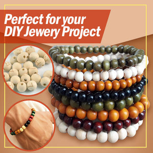 InstaKraft Wooden Bead Carving Kit