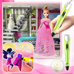 [PROMO 30%] Artsy™ Doll Accessories 3D Pen Set