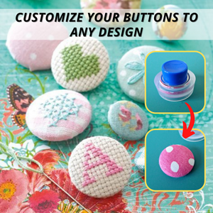 Craftsy™ Covered Button Maker Kit