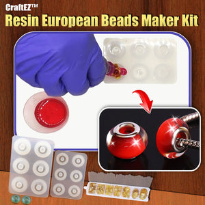 CraftEZ™ Resin European Beads Maker Kit