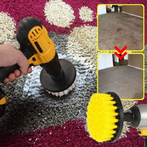 EzClean™ Carpet Cleaning Drill Brush