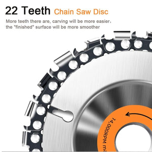 FastCut Woodcarving Grinder Chain Disc