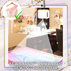 SewSavvy™ Portable Sewing Projector