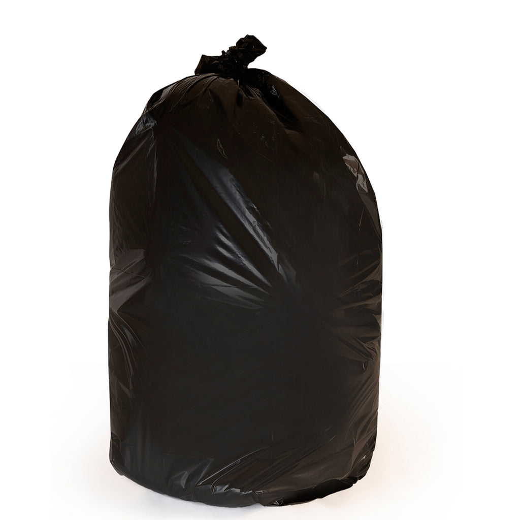250 Black Trash Bags - 65 GAL, 1.5 MIL - Free Shipping
