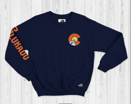 Navy Blue Sweatshirt