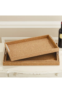 Wood Cork Tray