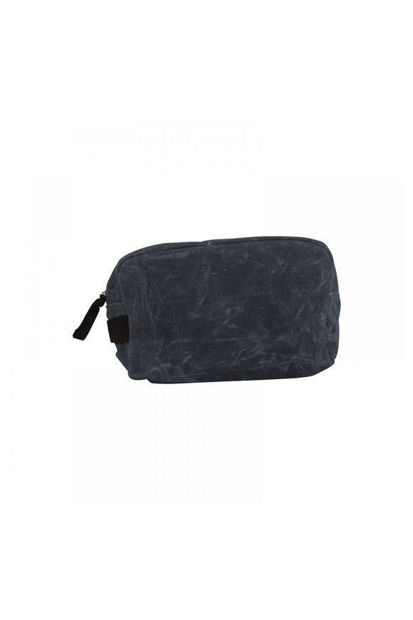 Canvas Toiletry Bag - Grey