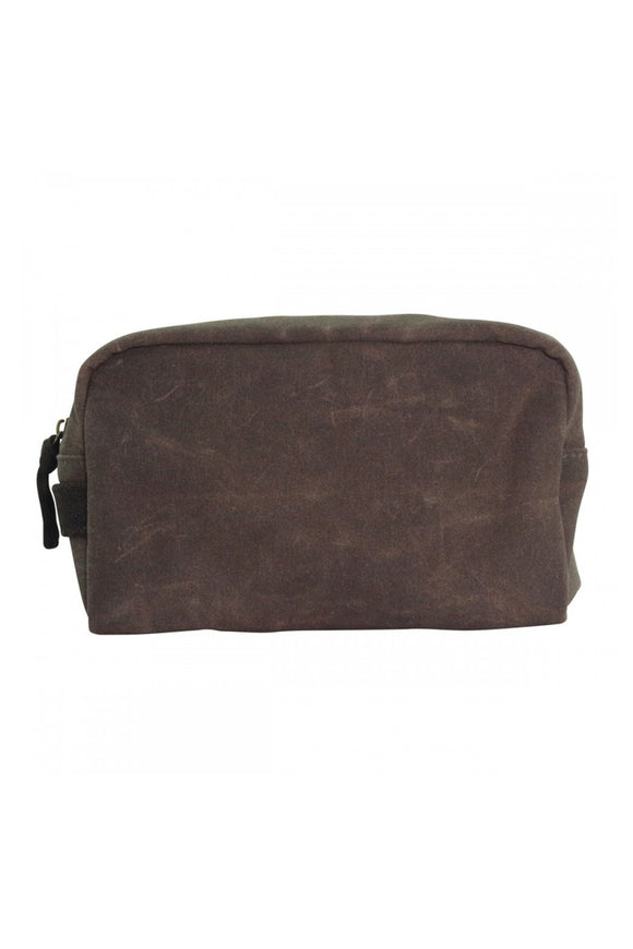 Canvas Toiletry Bag - Blue