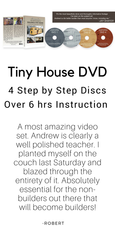 The How To Guide To Building A Tiny House 4 DVD Series