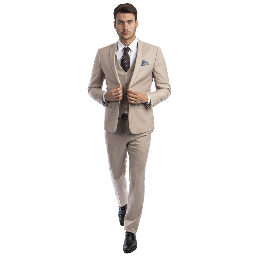 Sean Alexander 3 Piece Extreme Slim Fit Suit