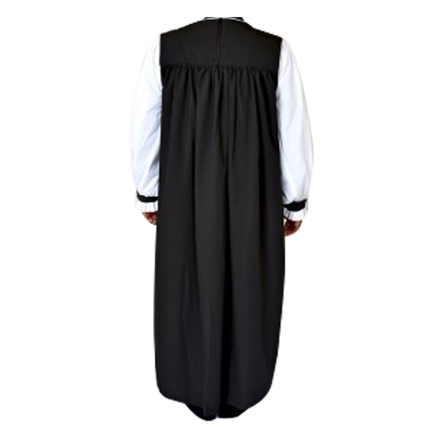 MENZ Anglican Traditional Clergy Chimere Bishop Choir Garment Black