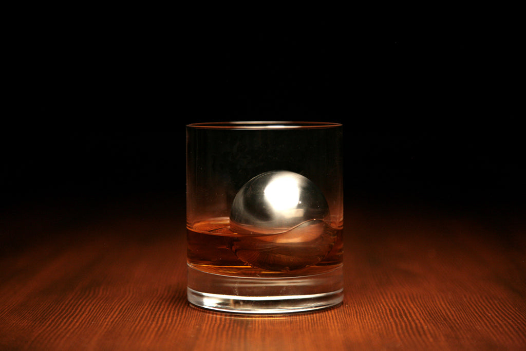 Large Whiskey Chiller ball and Sphere