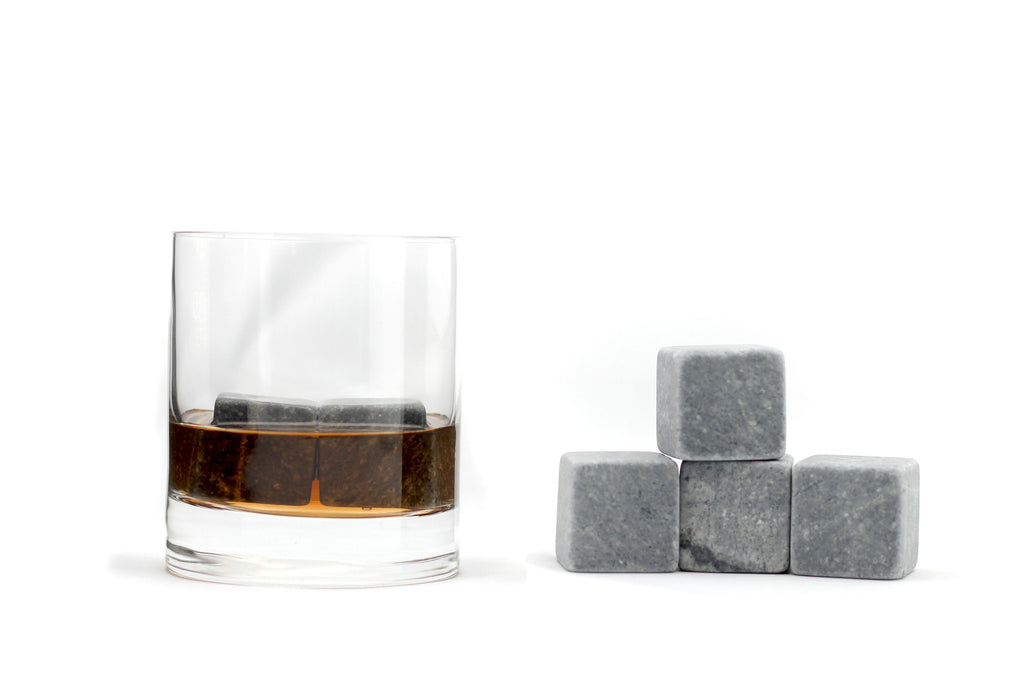 whiskey stones in whisky