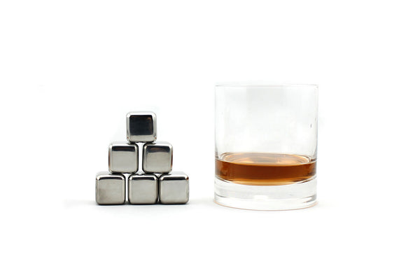 Whiskey stone set with whiskey glass by SipDark