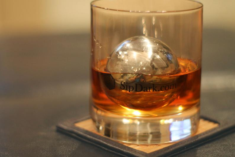 Custom Engraved LOBALL Whiskey Sphere with Wood Gift Box