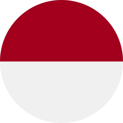 Indonesia flag icon - country flags