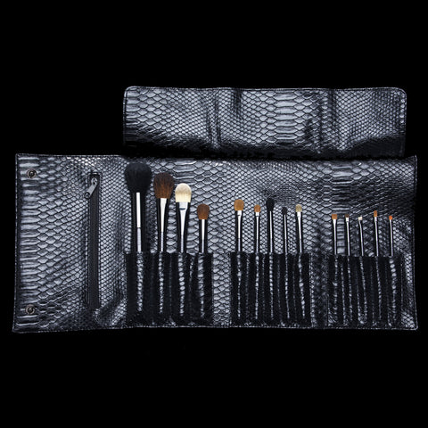 The Luxury Brush Clutch