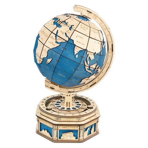The Globe - The ultimate 3D wood craft