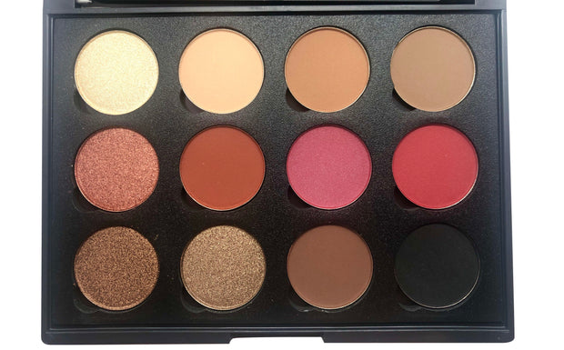 Powder&Pandemonium Eyeshadow Palette - Killa Beauty Lashes